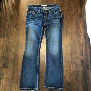 BKE Stella stretch jeans size 28x31 1/2